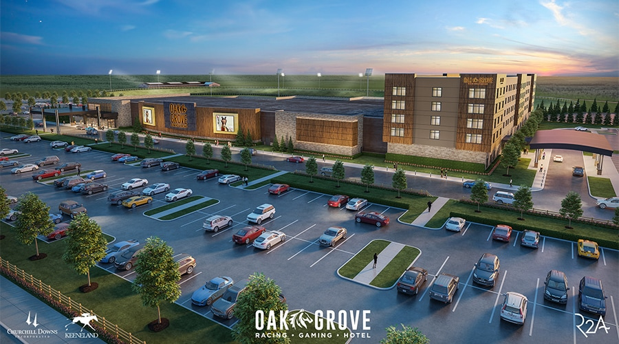 Oak Grove Exterior Render